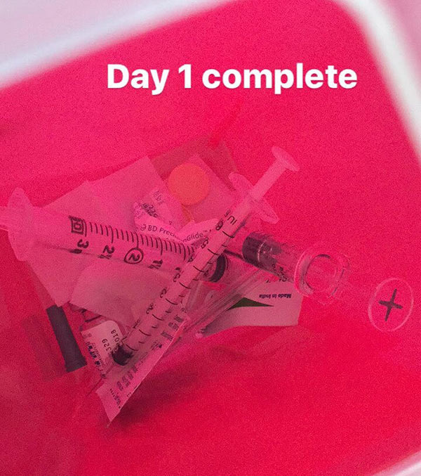 IVF medications day 1