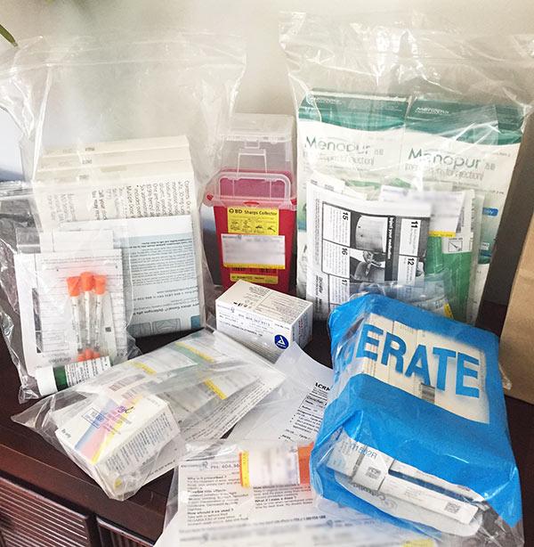 IVF retrieval medications