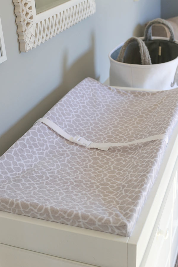image of changing pad in nursery
